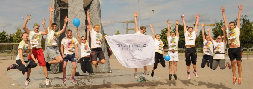 Asseco Lithuania in Color Run
